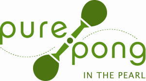 Pure Pong logo banner