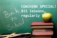 back to school coaching special white